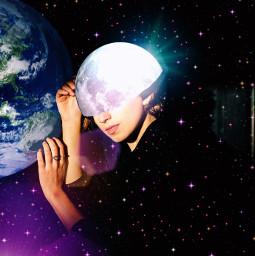 freetoedit surrealism goodnight moon earth