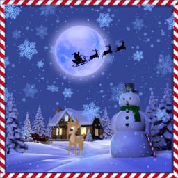 santaiscoming christmastime christmaseve freetoedit