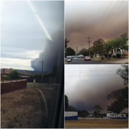 freetoedit bushfire nature smoke air