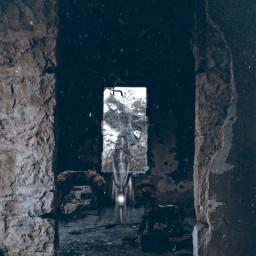 freetoedit creepy horror gothic abandoned