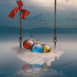vipshoutout fantasyart christmas decoration imagination freetoedit