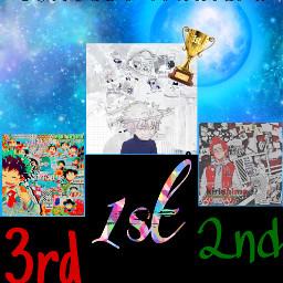 winner winners 1st 2nd 3rd freetoedit