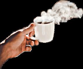 freetoedit hand steam coffee tea