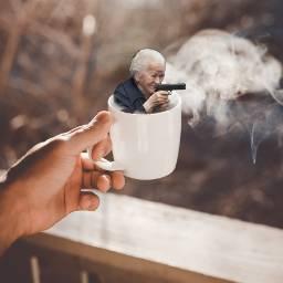 freetoedit coffeelover coffee gun funny ircteaday teaday
