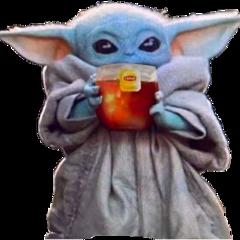 babyyoda yodachikito lipton tea yoda freetoedit