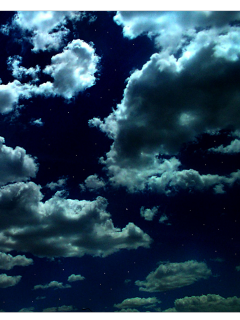 ftestickers sky clouds nighttime dark freetoedit