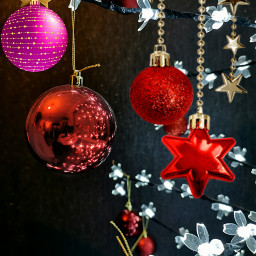 baubles freetoedit christmasdecoration stickers colourful