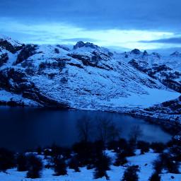 freetoedit monta mountains nevado nature pcsnowyslopes