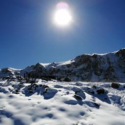 freetoedit mountain snow snowmauntain chile day pcsnowyslopes snowyslopes