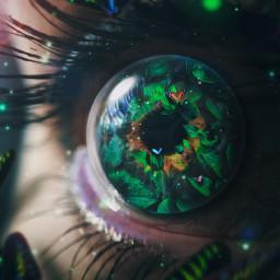 eye eyes butterfly surreal be freetoedit