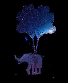 freetoedit ftestickers stickers balloon elephant