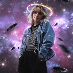 surreal fantasy galaxy ufo scifi freetoedit