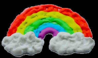rainbow y2k kidcore edit freetoedit