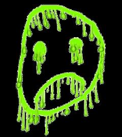 slime cyber cybercore green edit freetoedit