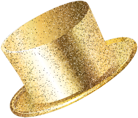 newyear newyearseve party partyhat gold freetoedit