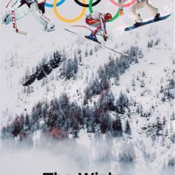 freetoedit sports olympics challenge snow ircwinterview winterview