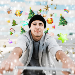 freetoedit holiday emoji emojibackground emojiselfie