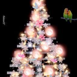 magical tree christmastree madewithpicsart picsarttools freetoedit