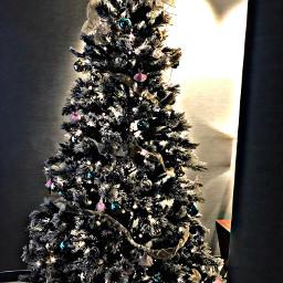 freetoedit tree bow ribbon ornaments