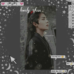 weiyeng the_untamed xaio_zhan lovely_boy💗 freetoedit