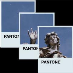 statue angel sky pantone polaroid freetoedit
