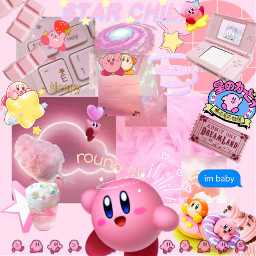 kirby edit aesthetic freetoedit