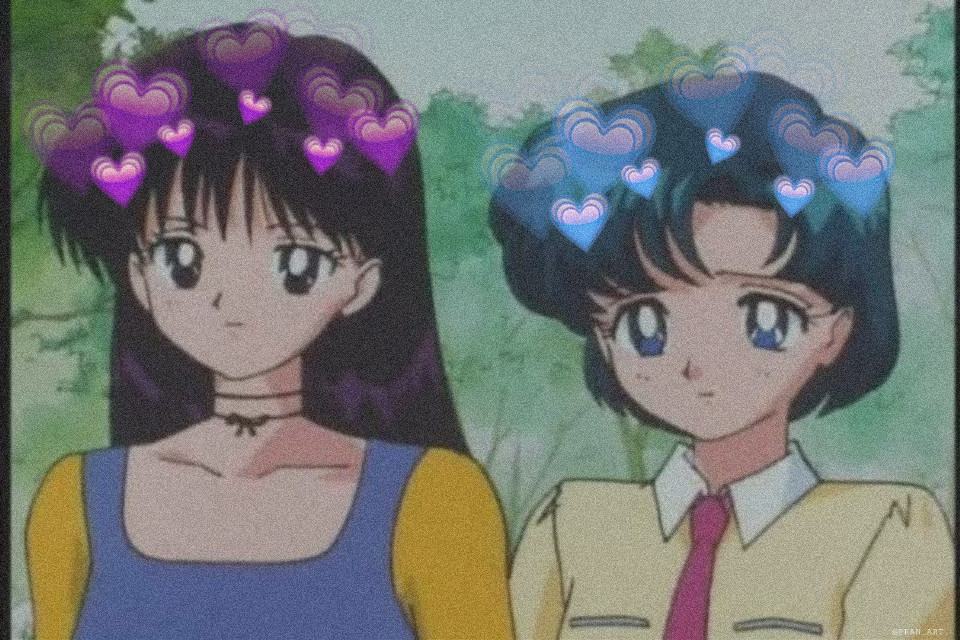 #freetoedit #sailormoon #sailormars #sailormercury