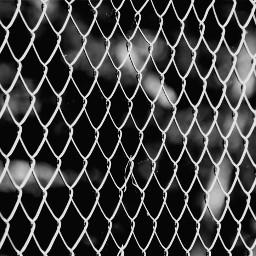 freetoedit blackandwhite pattern fence metal