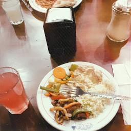 freetoedit dinner food vintage glicht