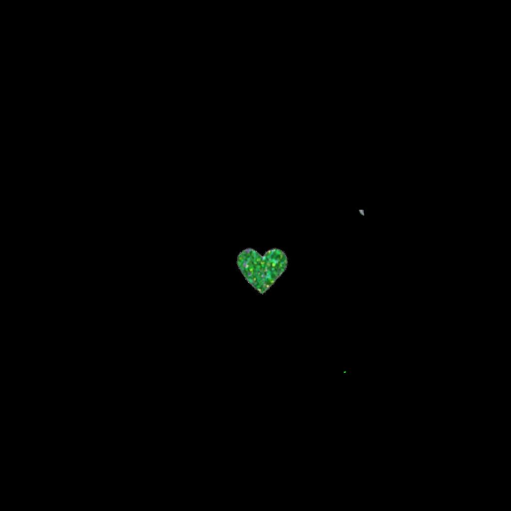 #heart #cute #kawaii #soft #green #sticker
