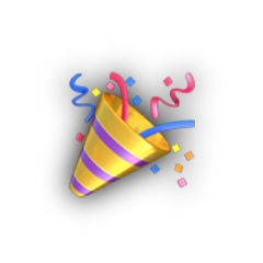 celebrate party emoji iphoneemoji yeet freetoedit