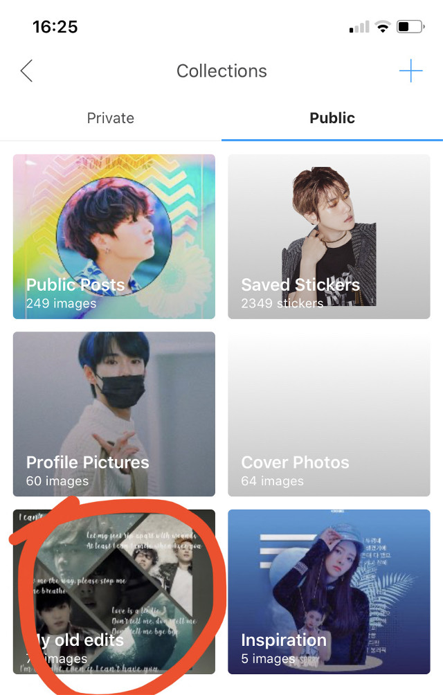 """New collection-""""My old edits""""  I will be hiding those edits from my profile so if you want to see my old edits, look there or in """"public posts"""""""