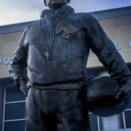 statue kansas sculpture basketball college pcstatue