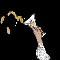 drink hand martiniglass martini transparent freetoedit