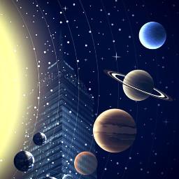 freetoedit picsart tools surreal planets