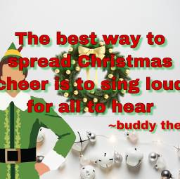 freetoedit elf wreath christmas bell