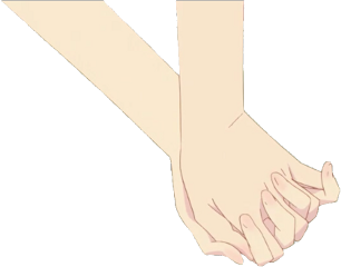 romance hands anime love aesthetic freetoedit