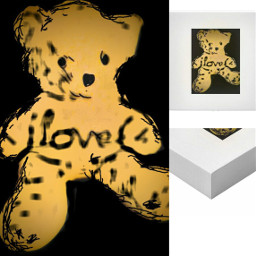 freetoedit bear canvas crafts craft