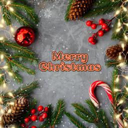 freetoedit christmas merrychristmas christmasdecorations stickers
