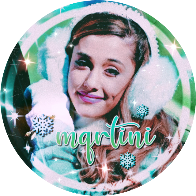 Here is your icon @mqrtini , hope you like it!  Let me know if you don't, cause I'm happy to make you a new one. 💞  #icon #iconrequest #arianagrande #ariana #grande #ari #ariana_grande #snow #winter #snowflakes #filters #fonts #overlays #freetoedit 💙💚❤