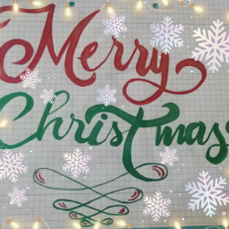 merrychristmas buonnatale red green metaleffect