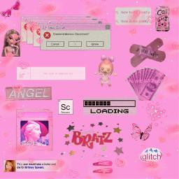 freetoedit 2000s aesthetic pink y2k