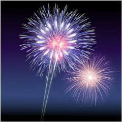 fireworks background backgrounds lights illumination freetoedit