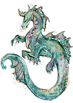 freetoedit monster fantasy dragon glitter