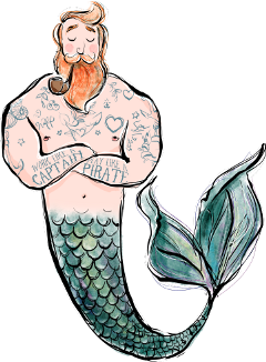 freetoedit mermaid fantasy captain glitter