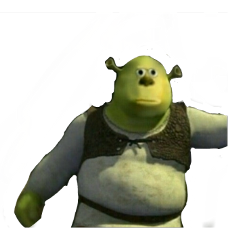 cursed meme shrek mikewazowsky mike freetoedit