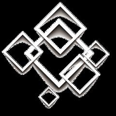 3d frame omlay square squares freetoedit