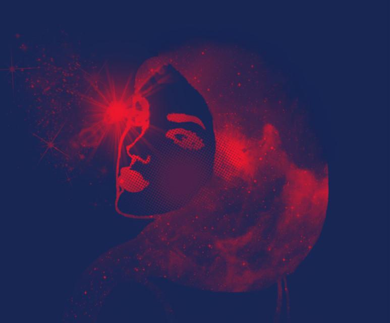 #freetoedit #vipshoutout to @zina16   #girl #stars #simple #drawing #galaxy