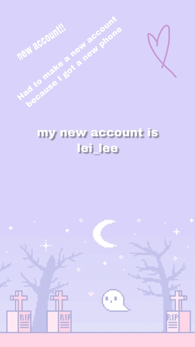 @lei_lee is my new account!