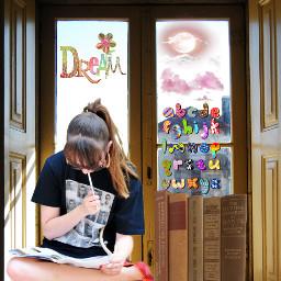 freetoedit window woman womansitting womanreading ircwindow